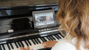 Klavier lernen App auf Zapiano