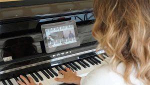 Klavier spielen online auf Zapiano