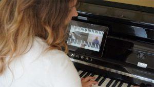 Klavier online lernen mit Zapiano.