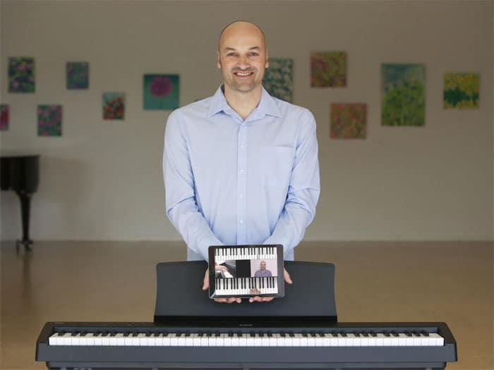 Klavier lernen youtube auf Zapiano