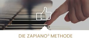 Klavier lernen Zapiano Methode