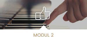 Klavier lernen Modul 2