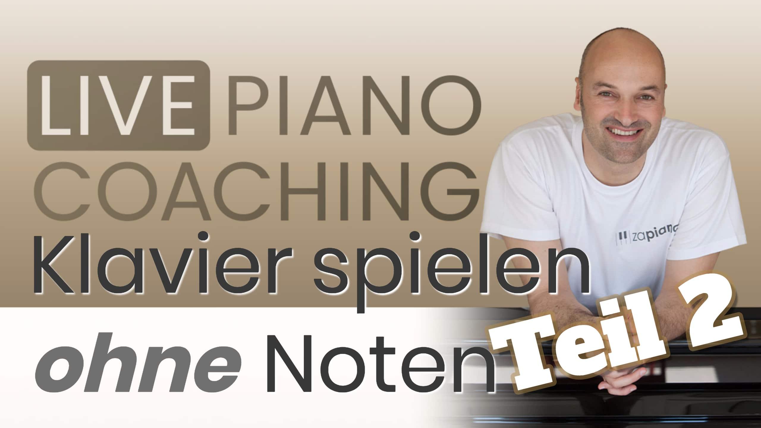 Klavier Spielen klavier spielen ohne noten teil 2 zapiano